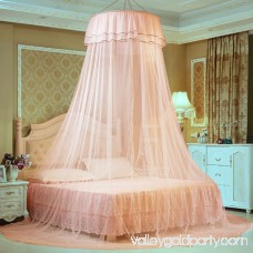 Dome Bed Net Mosquito Netting Luxury Butterfly Pin Decor Bed Canopy Princess Mosquito Net with Sticky Hook Romantic Lace Decorative Net for Kids Girls Bedroom Home Outdoor