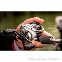 Abu Garcia Silver Max Low Profile Baitcast Reel and Fishing Rod Combo   555067452