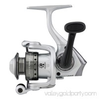 "Abu Garcia 1398067 Silver Max Spinning Reel [30, 5.1:1 Gear Ratio, 6 Bearings, 29"" Retrieve Rate, Ambidextrous, Clam Package]   555620462"