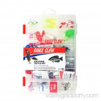 Eagle Claw Crappie Tackle Kit with Utility Box 550380633