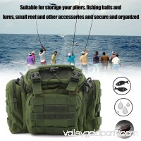 Portable Outdoor Large Capacity Waterproof Fishing Tackle Bag Storage Fishing Gear Bag