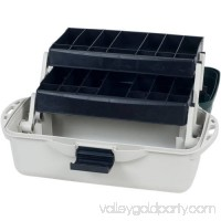 Wakeman Fishing 2-Tray Tackle Box Organizer 14 554983041