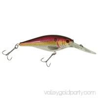 "Berkley Flicker Shad Hard Bait 3 1/2"" Length, 11'-13' Swimming Depth, 2 Hooks, Racy Shad, Per 1   553146510"