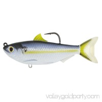 "LiveTarget Threadfin Shad Crankbait Freshwwater, 4 1/2"", 7/0 Hook, Medium/Slow Sinking, Violet/Blue   564983092"