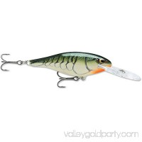 Rapala Shad Rap Lure Size 07, 2 3/4 Length, 5'-11' Depth, 2 Number 6 Treble Hooks, Bluegill, Per 1 000900988