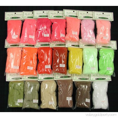 McFlyfoam Assorted Colors - Fly Tying
