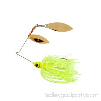Booyah Blade Spinner Bait, 3/8 oz, Chartreuse/White 004523637