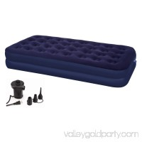 Second Avenue Collection Double Twin Air Mattress with Electric Air Pump 553149652