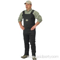 Caddis Men's Neoprene Stockingfoot Waders - L Stout Green   563477531