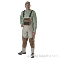Caddis Systems Deluxe Breathable Stocking Foot Wader, 2-Tone Taupe   563476429