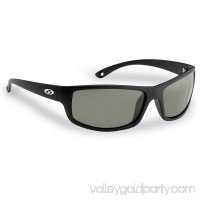 Flying Fisherman Slack Tide Polarized Sunglasses, Matte Black Frame, Smoke Lens 551050501