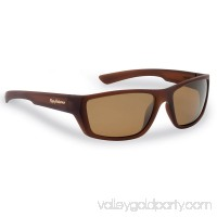 Flying Fisherman Tailer Polarized Sunglasses, Brown Frame, Amber Lens 551048371