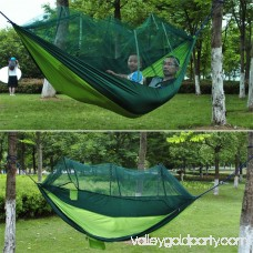 2 Person Hanging Hammock Bed With Mosquito Net Parachute Cloth Hammock 569796681