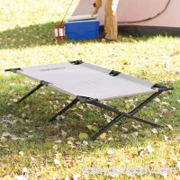 Coleman Trailhead II Military Style Cot For 6' 2 Tall People Supports Up to 300 lbs.