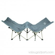 Osage River Folding Camp Cot with Carry Bag Gray 566821477