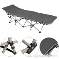 Outdoor/Indoor Portable Folding Camping Bed & Cot, grey   570173421