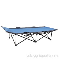 Stansport One-Step Deluxe Cot - Blue 570272064