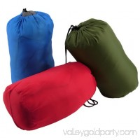 3Pcs Best Sleeping Bags for Camping, Portable Envelope Lightweight Waterproof Sleeping Bags Soft Warm Sleep Bags With Compression Sack,for Traveling/Camping/Hiking/Outdoor Activities(Blue+Red+Green)