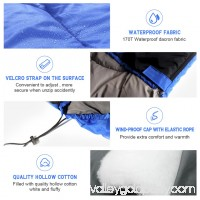 Large Single Sleeping Bag Warm Soft Adult Waterproof Camping Hiking