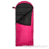 Lucky Bums Youth Muir Sleeping Bag 40°F/5°C with Digital Accessory Pocket and Carry Bag, True Timber Kanati   568318793